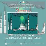 Selamat merayakan Hari raya Idul Fitri